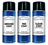 Spectral Paints Compatible/Replacement for Lexus 077 Starfire Pearl 12 oz. Aerosol Spray Paint and Clear Coat