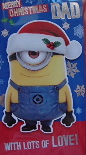Despicable Me Minion Dad Weihnachtskarte