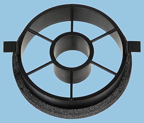 パナソニック 換気扇 【VB-YA100FW】 自然給気口スラリ用フィルター枠mm