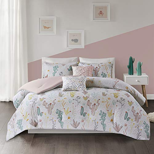 Home Essence Kids Flora Cotton Printed Comforter Set