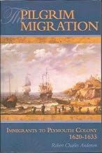 Pilgrim Migration: Immigrants to Plymouth Colony, 1620-1633