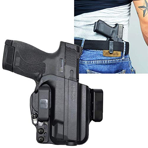 Holster for S&W M&P Shield 9/40 - IWB Holster for Concealed Carry / Custom fit to Your Gun - Bravo Concealment