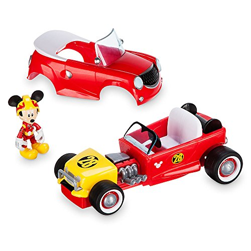 Disney Mickey Mouse Transforming Pullback Racer - Mickey The Roadster Racers