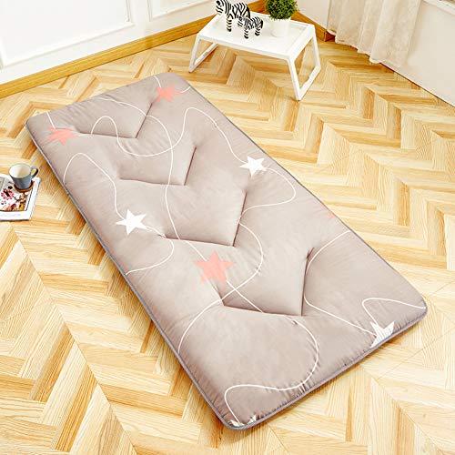 YQ WHJB Student Dormitory Futon Mattress, Ultra Soft Thick Tatami Floor Mat Not-slip Foldable Sleeping Pad For Home Camping Travel-j 90cmx190cm(35x75inch)