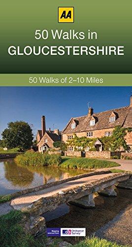 50 Walks in Gloucestershire (AA 50 Walks Series)
