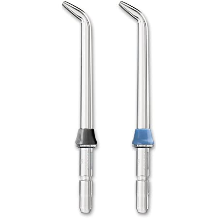 Waterpik Classic Jet Tip, High-Pressure Water Flosser Tip Replacement, JT-450E, 2 count (assorted colors)
