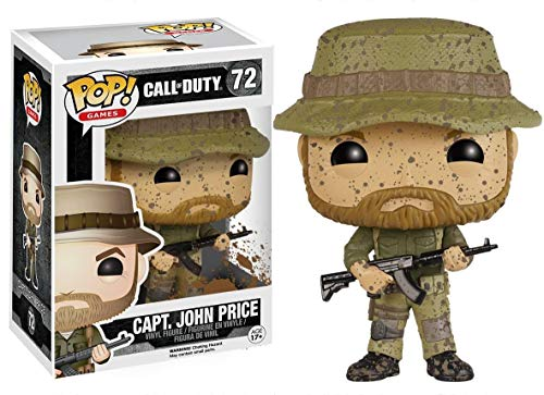 Funko 6824 S1 No Actionfigur Call of Duty: Captain John Price, Multi
