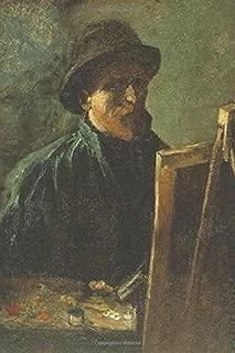 Journal: Self Portrait at Easel by Vincent Van Gogh