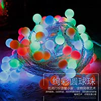 2020 Latest Design シャインライトLEDロープ110 V / 220 Vクリスマスツリー装飾ライト銅ボール10メートルガーランドデコレーションランプ