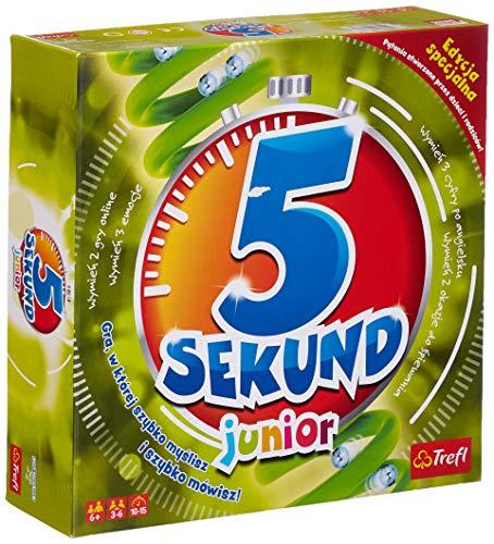 Trefl, 5 Sekund Junior 2.0 Edycja Specjalna, gra familijna od 6 lat
