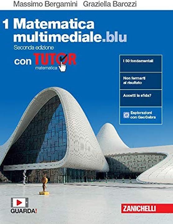 Libro superiori di matematica multimediale.blu. - copertina flessibile 978-8808920607