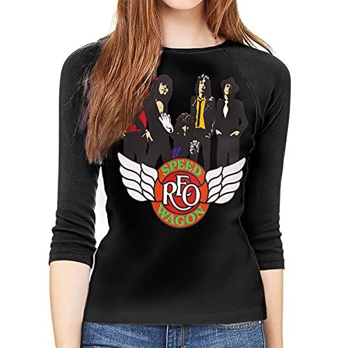 REOSpeedwagon Logo 1980 T Shirt Women
