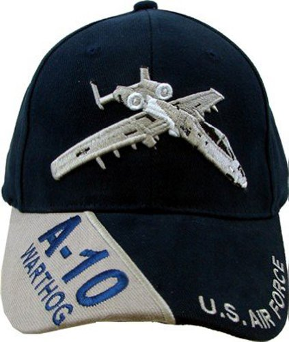 US Air Force 'A-10 Warthog' Ball Cap, Blue, Adjustable
