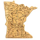 Minnesota State  Bamboo Serving and Cutting Board