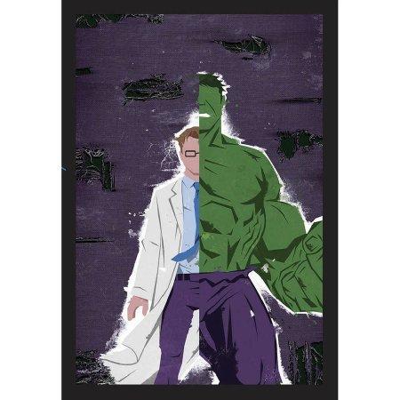 Marvel Comics Hulk/Bruce Banner Alter Heroes Framed Wall...