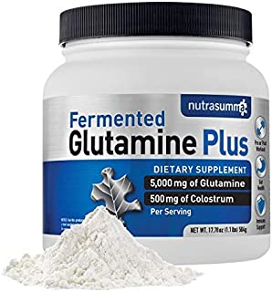 Nutrasumma Glutamine Plus 1.1lb.– Supports Muscle Mass, Pre/Post Workout, Energy Booster, Endurance & Recovery, Gut Health...
