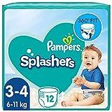 Pampers Baby Windeln Größe 3-4, Splashers, 96 Stück,...