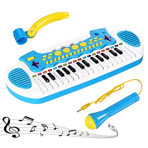 Love&Mini Kids Piano Keyboard for Baby – Musical Toy for Baby Boys Girls...