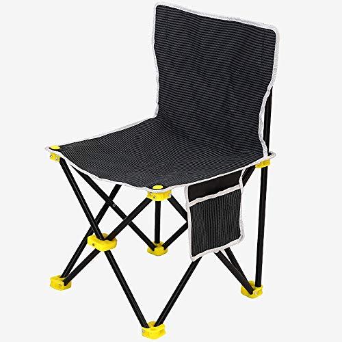 ZYJ Campingstoel opvouwbare draagbare gazonstoel met armleuningen bekerhouder en opbergtas met draagtas