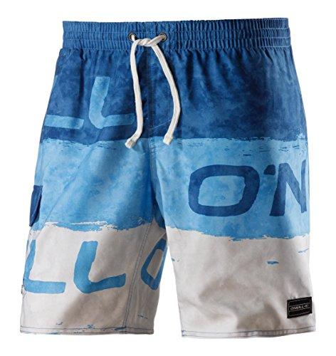 O'Neill - Maillot de bain de sport Homme PM Stack - Bleu (Blue AOP) - Small
