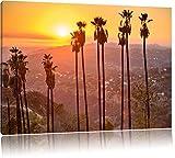 Hollywood Sign Zeichen Schriftzug 100x70cm Bild auf