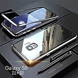 【2018 Samsung Galaxy S9 ケース バンパー DINGXIN 航空宇宙 アルミニウム 金属フレーム 背面……