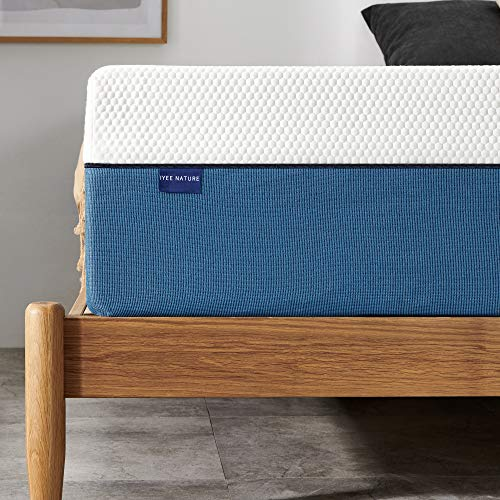 Full Mattress, Iyee Nature 12 inch Gel Memory Foam Mattress in a Box, Foam Bed Mattress Medium Firm Foam Mattress