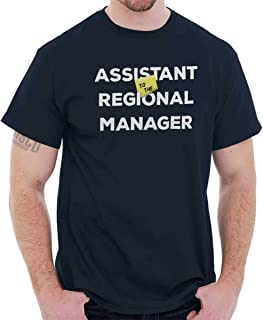 Brisco Brands Assistant to Regional Manager Show Comedy T Shirt Tee