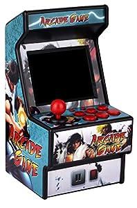 Mini Arcade Spielmaschine RHAC01 2,8 Zoll 156 Klassische Handheld Spiele Tragbare Maschine für Kinder mit Augengeschütztem Bildschirm (NUR ENGLISCH)