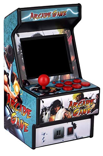 Mini Arcade Game Machine RHAC01 156 Classic Handheld Games Portable Machine for Kids&Adults with 2.8 Eye-Protected Colorful Screen&Rechargeable Battery Golden Security