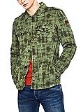 Pepe Jeans Grant Chaqueta, Verde, X-Large para Hombre
