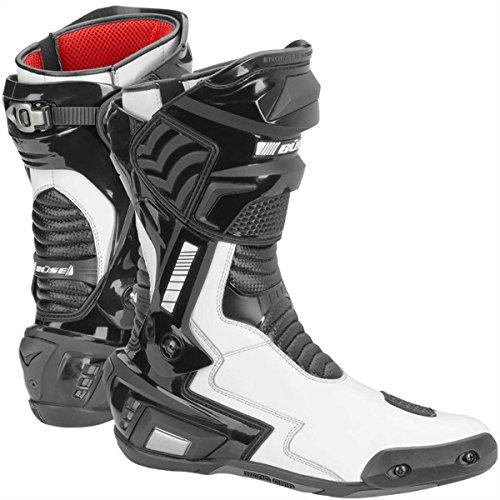 Büse SBX Stiefel Wasserdicht, Farbe schwarz-Weiss, Größe 42
