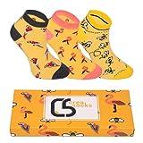 CREA SOCKS Tiere Socken, Lustige Socken, Geschenk Socken, Herren Socken, Damen Socken (36-40)