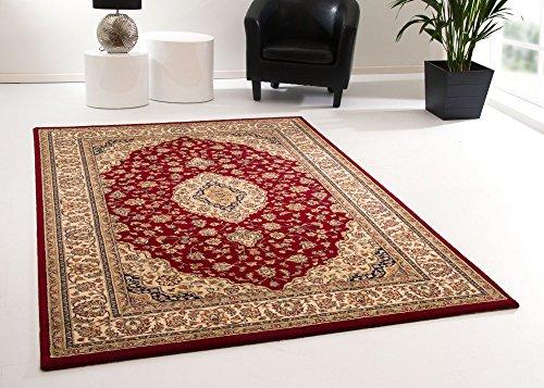 Orientteppich Tripolis Kirman in Rot, GUT Siegel Zertifiziert, Größe: 200x290 cm