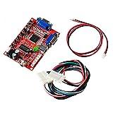 Mcbazel Arcade Game VGA a CGA/CVBS/S-Video Video Converter Board Alta definición portátil para Monitor CRT/LCD/PDP
