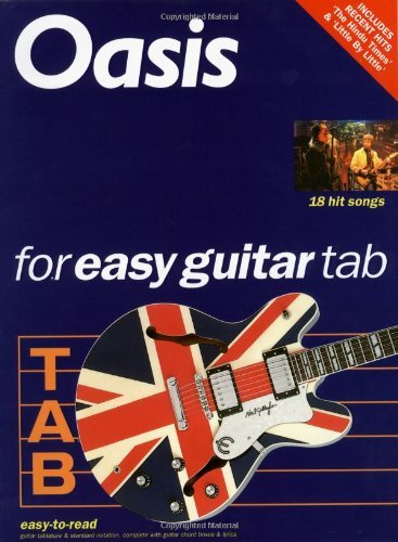 Oasis for Easy Guitar Tab by Oasis (2003-01-01)