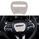 Thor-Ind Bling Steering Wheel Sticker Cover Trim for Dodge Challenger Charger Durango 2015 2016 2017 2018 2019 2020 2021