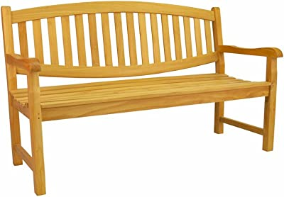 Anderson Teak Kingston 3-Seater Bench, Dupione Paradise