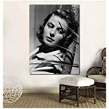 WTHKL Ingrid Bergman Poster und Drucke Leinwand Malerei