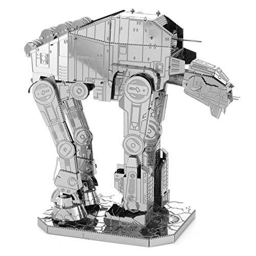 Fascinations MMS285 - Metal Earth 502677 - Star Wars EP 8 - at-M6 Heavy Assault Walker, lasergeschnittener 3D-Konstruktionsbausatz, 2 Metallplatinen, ab 14 Jahren
