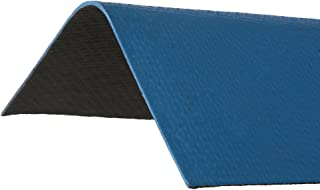 ONDURA 5255 Corrugated Asphalt Roof Ridge Cap, Blue