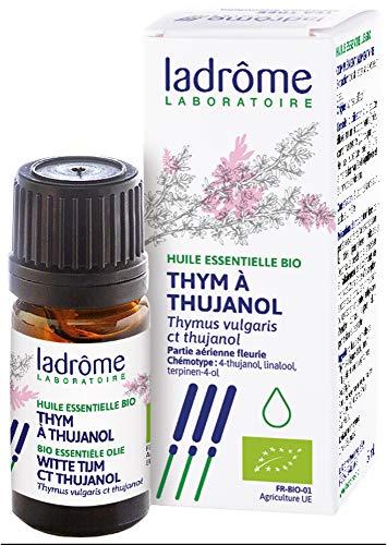 Ladrôme Huile Essentielle Thym à Thujanol (Thymus vulgaris ct thujanol) Bio 5 ml