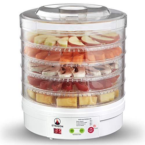 Essiccatore Alimentare Frutta e verdura disidratatore per alimenti 5 ripiani prodotto certificato