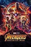 1art1 The Avengers - Infinity War, Kinoplakat Poster 91 x