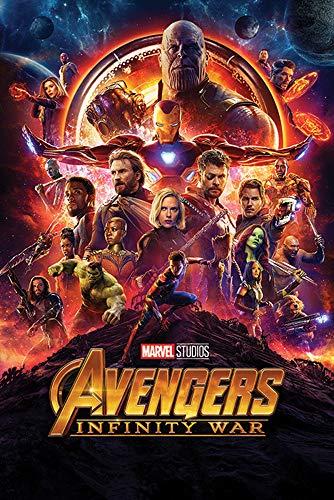 1art1 The Avengers - Infinity War, Kinoplakat Poster 91 x 61 cm