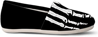 Gnarly Tees Skeleton Casual Shoes