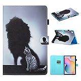 Aswant Samsung Tab S6 Lite - Funda tipo cartera con función atril y función de...