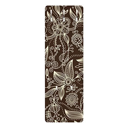 Perchero - Art Nouveau Monochrome 139x46x2cm, percheros, Perchero de Pared, Perchero Pared, percheros Pared, percheros Modernos