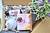 Zaaina Mini Spa Gift Set under 15. Little Luxuries Spa Gift Box for Teenage Girl, Women, Friend, Mom. Small Gift Ideas Bath Bomb Soap Lip Balm, Mother's Day Administrative Professionals Day Nurses Day