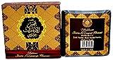 Bakhoor Shams AL EMARAT KHUSI 40 gm in profumo mela, vaniglia, rosa, Oud, legno di sandalo, muschio fabbricato nelle UAE, ideale per uso interno ed esterno, incenso deodorante ad aria